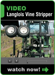 Langlois Vine Stripper & Vine Shredder Demonstration Video